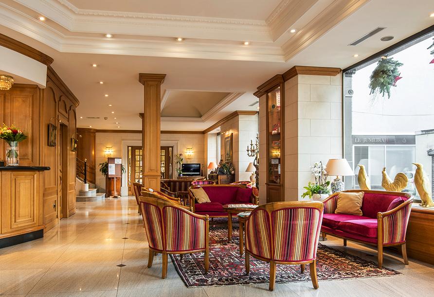 Hotel Le Bristol in Mulhouse, Lobby