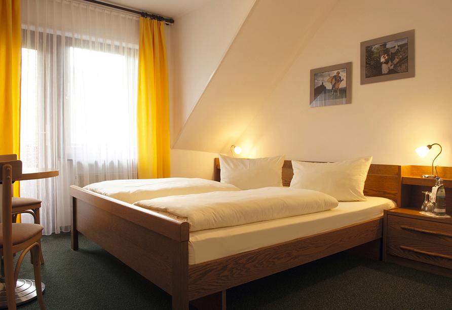 Hotel Weinhaus Fuhrmann in Ellenz-Poltersdorf an der Mosel, Zimmerbeispiel