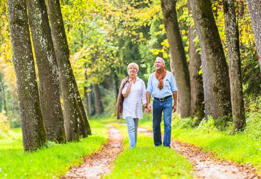 Best Western Soibelmanns Lutherstadt Wittenberg, Paar beim Spaziergang