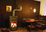 Hotel Wiedfriede Dattenberg Rhein-Westerwald Wiedtal Ofenstube