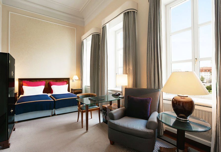 Hotel Taschenbergpalais Kempinski, Zimmerbeispiel