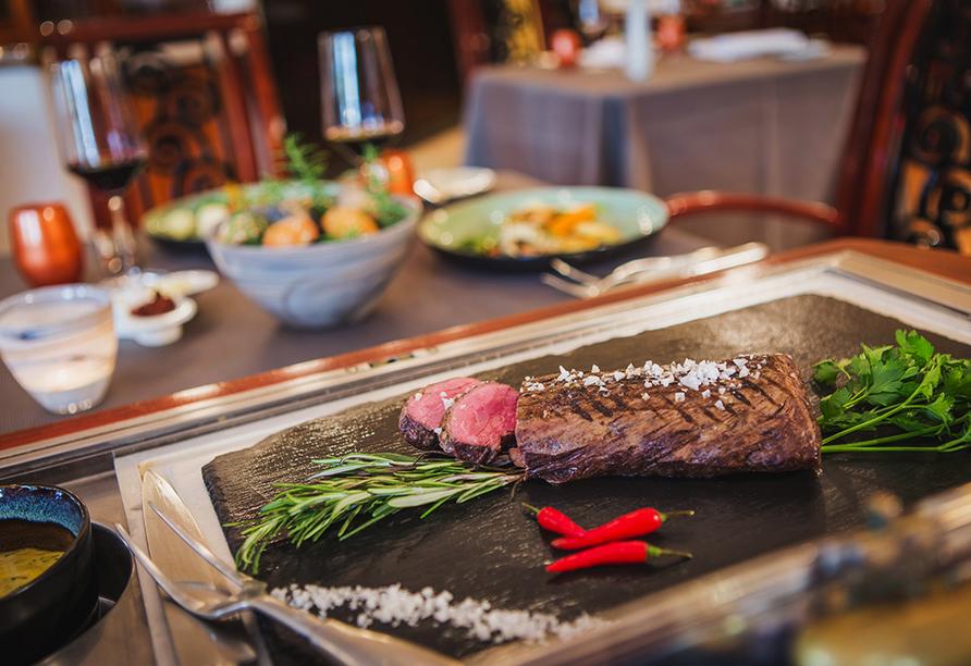 Hotel Taschenbergpalais Kempinski Dresden, Steak