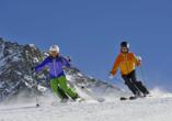 Hotel Schachtnerhof in Wörgl in Tirol, Skifahren