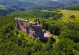 Hotel du Parc Wellness & Beauty in Bad Niederbronn, Burg Fleckenstein