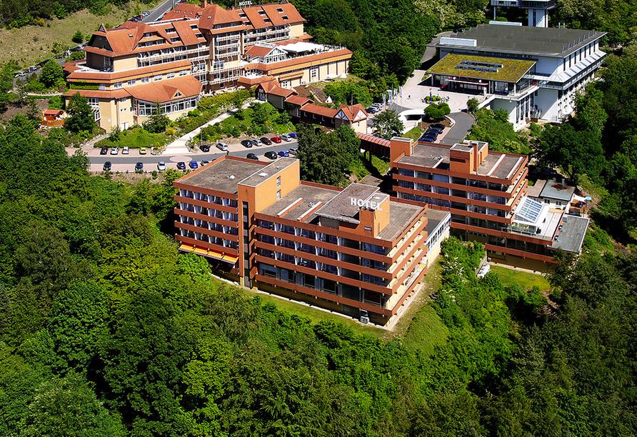 Göbel's Hotel Rodenberg in Rotenburg an der Fulda, Außenansicht mit Gästehaus