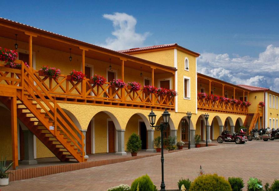 Hotel Resort Stein in Cheb, Außenansicht 2