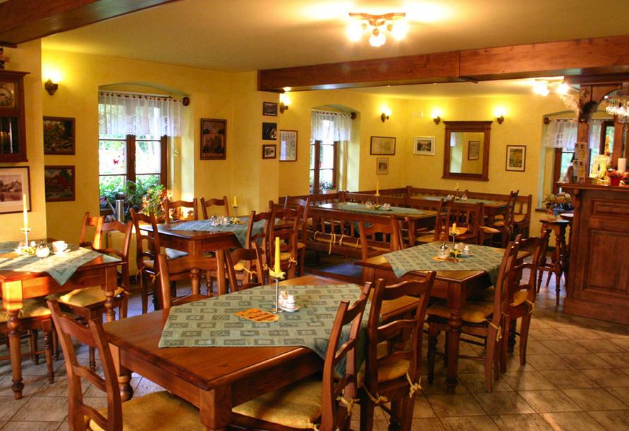Hotel Resort Stein in Cheb, Restaurant
