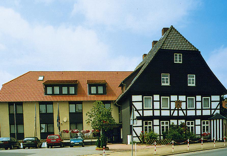 Hotel Zum Alten Fritz Seesen Harz Außenansicht
