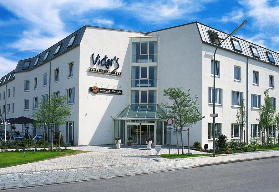 Victor's Residenz-Hotel in Unterschleißheim, Außenansicht