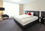 Victor's Residenz-Hotel in Unterschleißheim, Beispiel eines Doppelzimmers