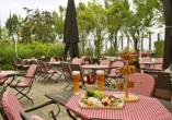 Victor's Residenz-Hotel in Unterschleißheim, Terrasse