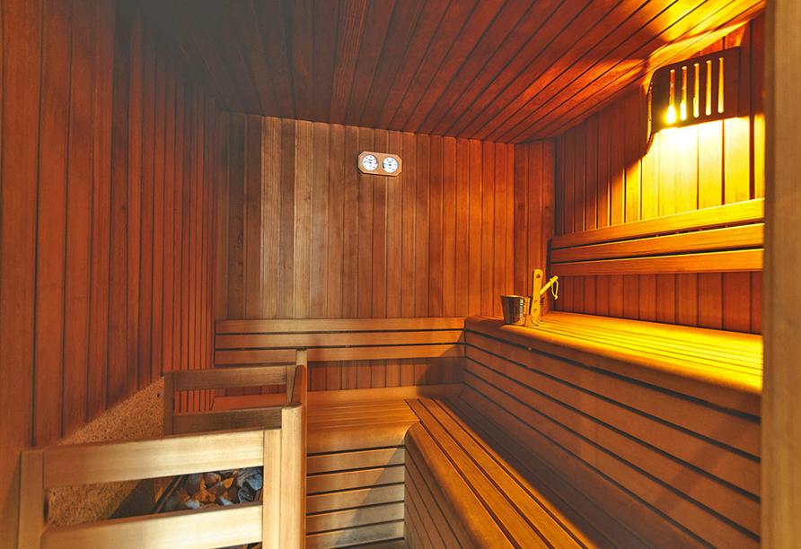 Hotel Bellamonte in Predazzo, Sauna