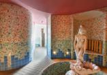 Hotel Bellamonte in Predazzo, Wellness