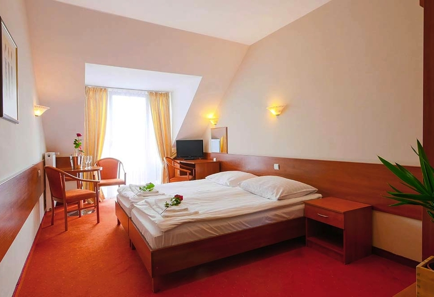 Hotel Alcest, Zimmer