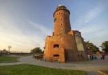 Kurhaus Baltyk Kolberg Polnische Ostsee, Leuchtturm