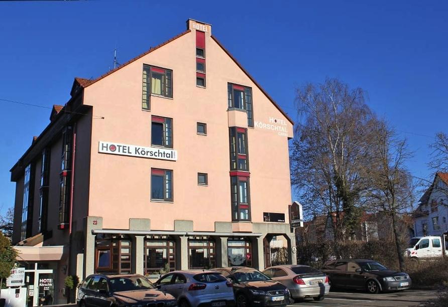 Hotel Körschtal Stuttgart Baden-Württemberg, Außenansicht