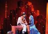 Disney ALADDIN, Jasmin und Aladdin