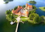 Erlebnisreise-Litauen-Lettland-Estland, Wasserburg Trakai