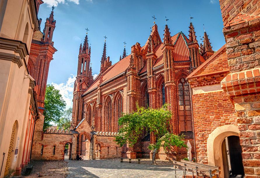 Erlebnisreise-Litauen-Lettland-Estland, St. Anna Kirche