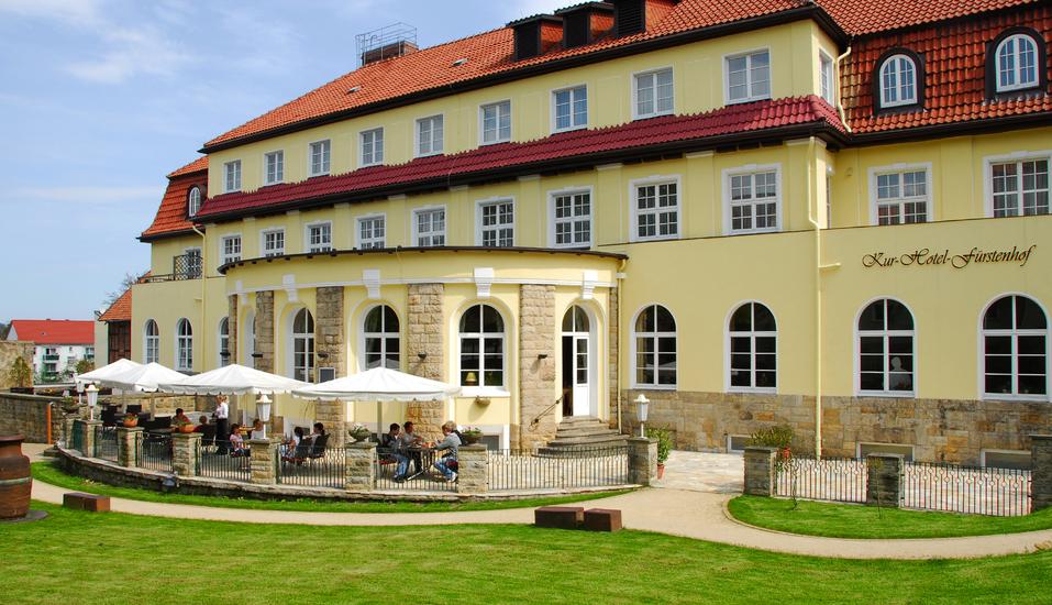 Kurhotel Fürstenhof in Blankenburg im Harz Außenansicht