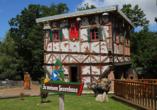 Kurhotel Fürstenhof in Blankenburg im Harz, Hexenhaus in Thale