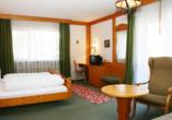Hotel Rauchfang in Titisee im Schwarzwald, Zimmerbeispiel