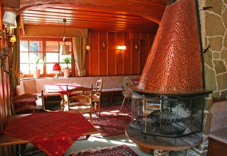 Hotel Rauchfang in Titisee im Schwarzwald, Stube