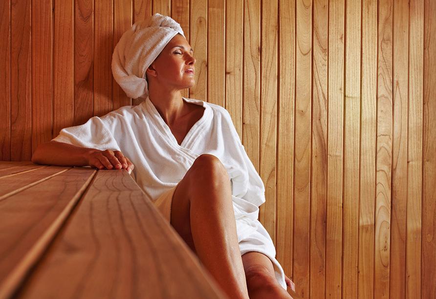 Center Hotel Alte Spinnerei Burgstädt, Sauna