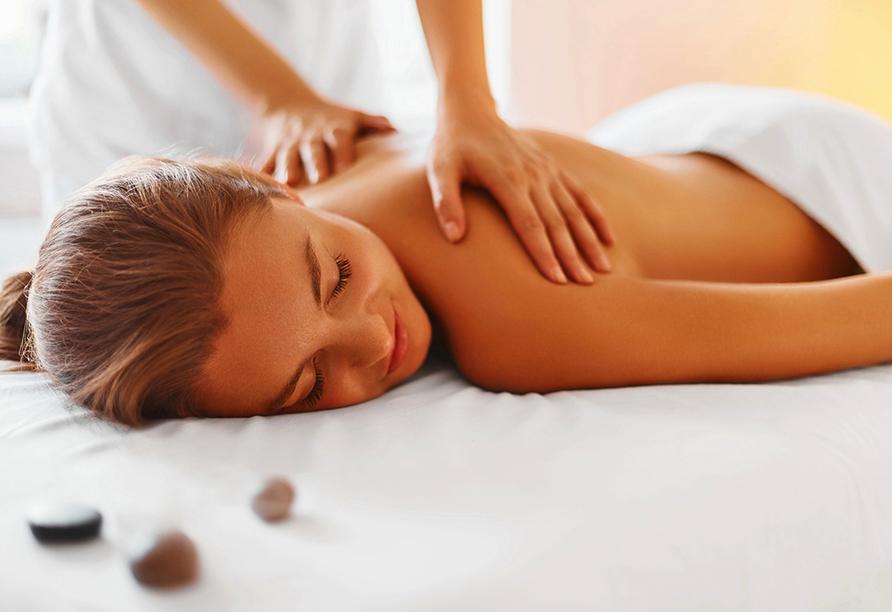 Center Hotel Alte Spinnerei Burgstädt, Massage