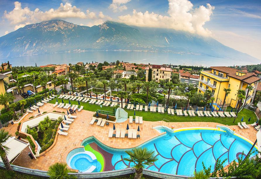 Hotel Royal Village in Limone Sul Garda, Außenbereich