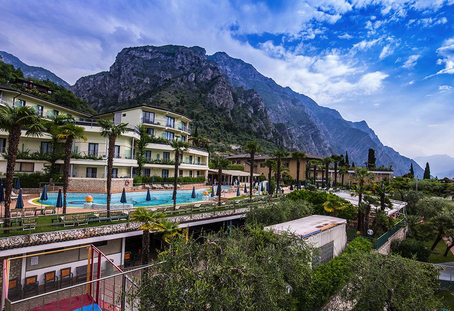 Hotel Royal Village in Limone Sul Garda, Panorama