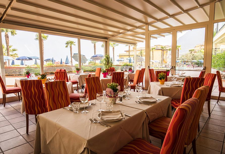 Hotel Royal Village in Limone Sul Garda, Restaurant