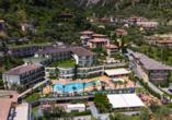 Hotel Royal Village in Limone Sul Garda, Außenansicht
