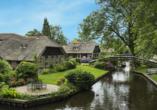 Mercure Hotel Zwolle in den Niederlanden, Ausflugsziel Giethoorn
