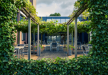 Mercure Hotel Zwolle in den Niederlanden, Terrasse