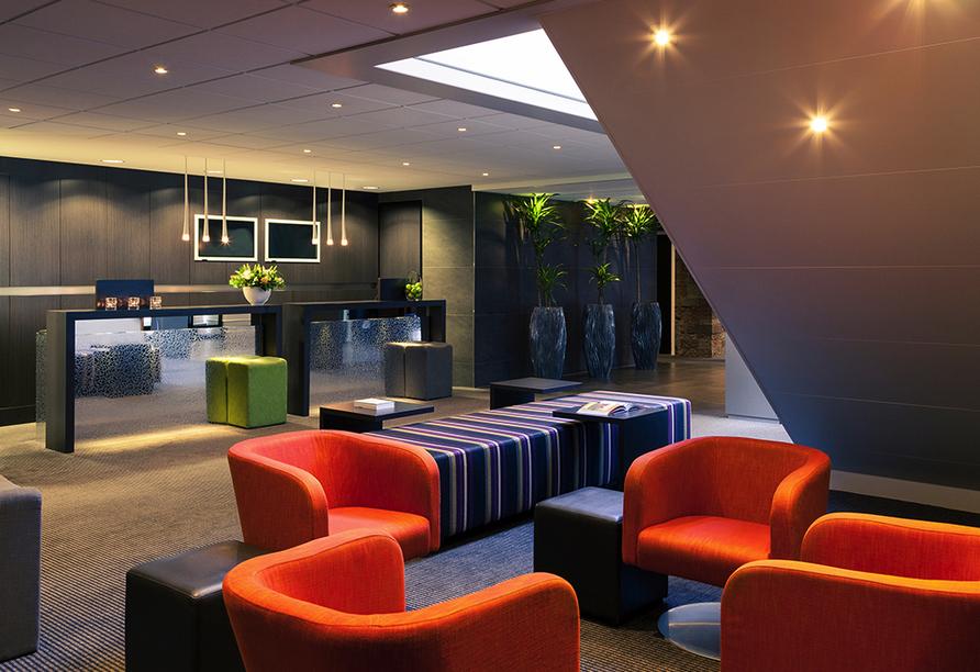 Mercure Hotel Zwolle in den Niederlanden, Lobby