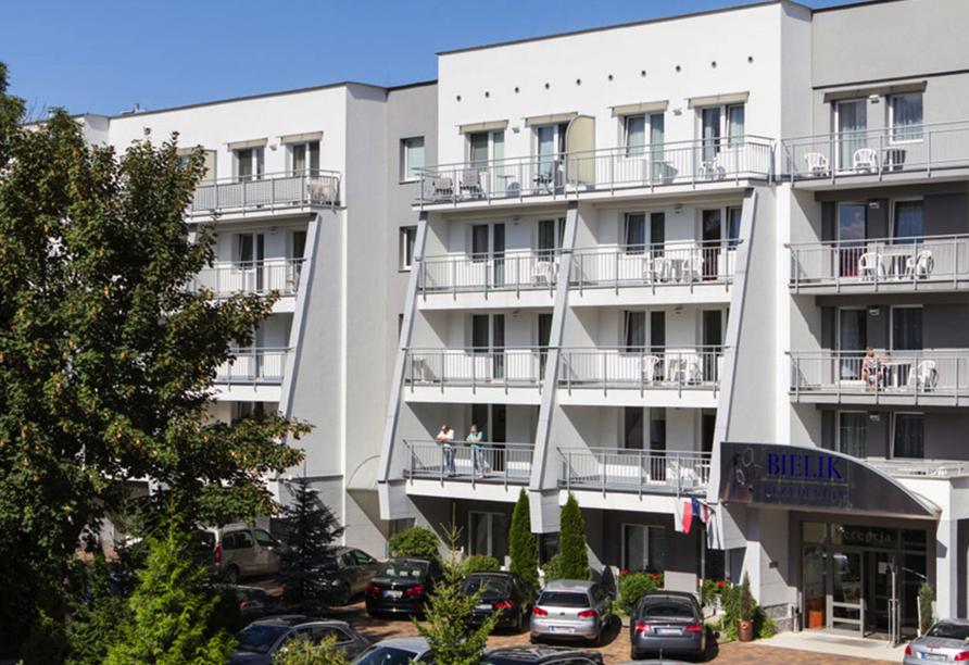Wellness & SPA Residenz Bielik in Misdroy an der polnischen Ostsee Außenansicht