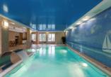 Wellness & SPA Residenz Bielik in Misdroy an der polnischen Ostsee Hallenbad
