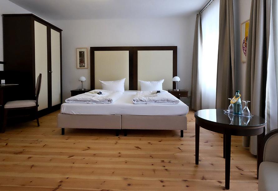 Hotel Resort Schloss Auerstedt in Bad Sulza, Beispieldoppelzimmer
