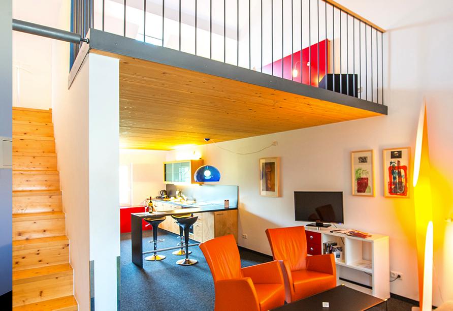 Hotel Resort Schloss Auerstedt in Bad Sulza, Beispielmaisonette
