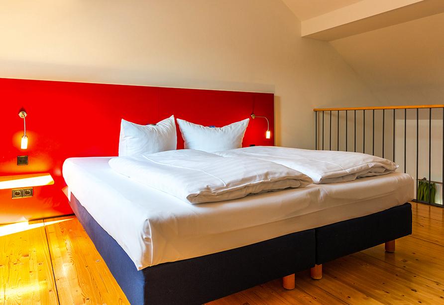 Hotel Resort Schloss Auerstedt in Bad Sulza,Beispiel Schlafempore