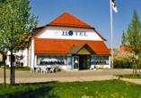 Apart Hotel Gera in Gera in Thüringen, Außenansicht