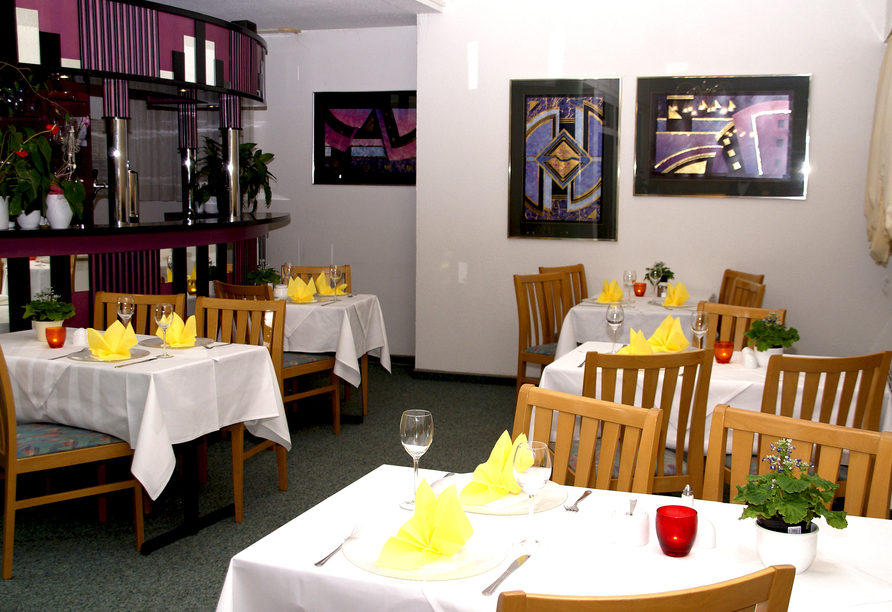 Apart Hotel Gera in Gera in Thüringen, Restaurant
