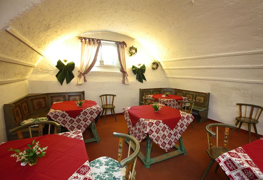 Naturhotel Wieserhof in Ritten in Südtirol, Restaurant