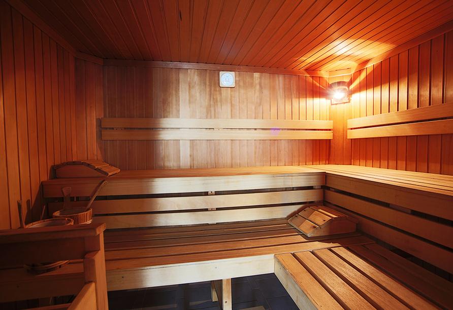 AKTIVHOTEL Weißer Hirsch in Mariazell, Sauna