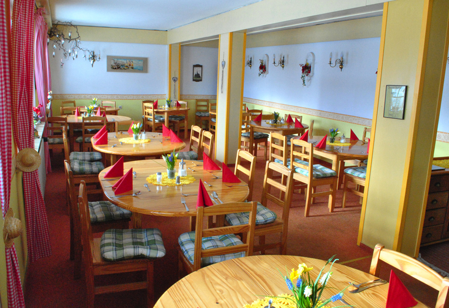 Restaurant vom Wald-Landhaus