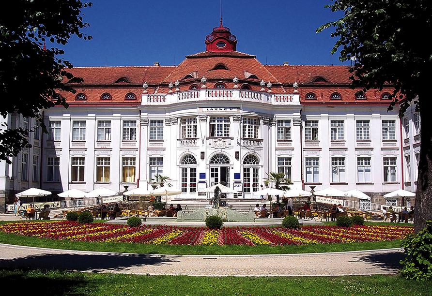 Spa Hotel Cajkovskij in Karlsbad, Elisabethbad