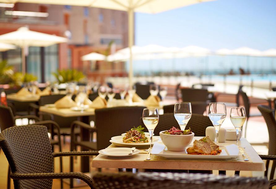Real Marina Hotel & Spa, Sonnenterrasse