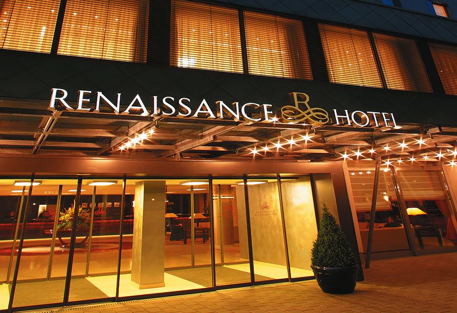 Renaissance Hotel Bochum. Außenansicht