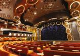 Costa Diadema, Theater
